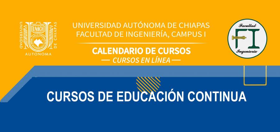Cursos de Educación Continua Abril - Mayo 2021