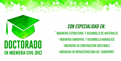 Convocatoria Doctorado en Ingeniería Civil